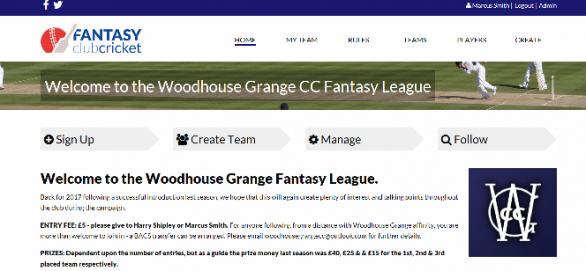 Fantasy League 2017